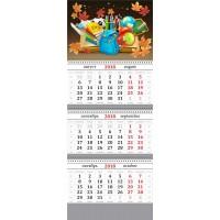 """Календарь квартальный """"Школа"""" 2018-2019 год. От 67 руб."""